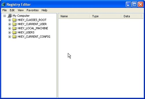 registry editor windows registry