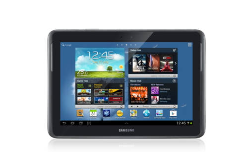 SAMSUNG NOTE 10 FRONT VIEW